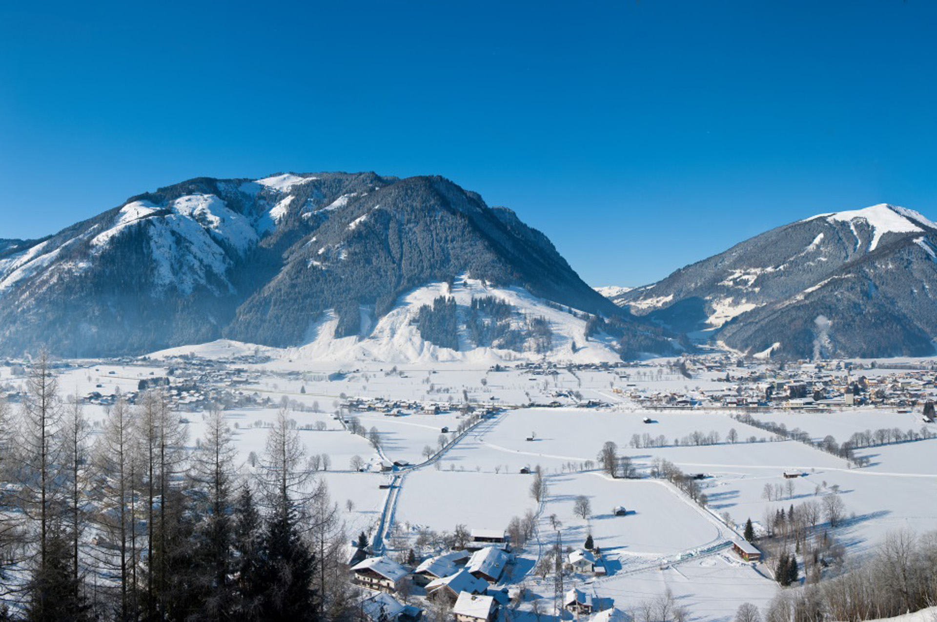 Header slide winter | Pension Alpenrose - Maishofen