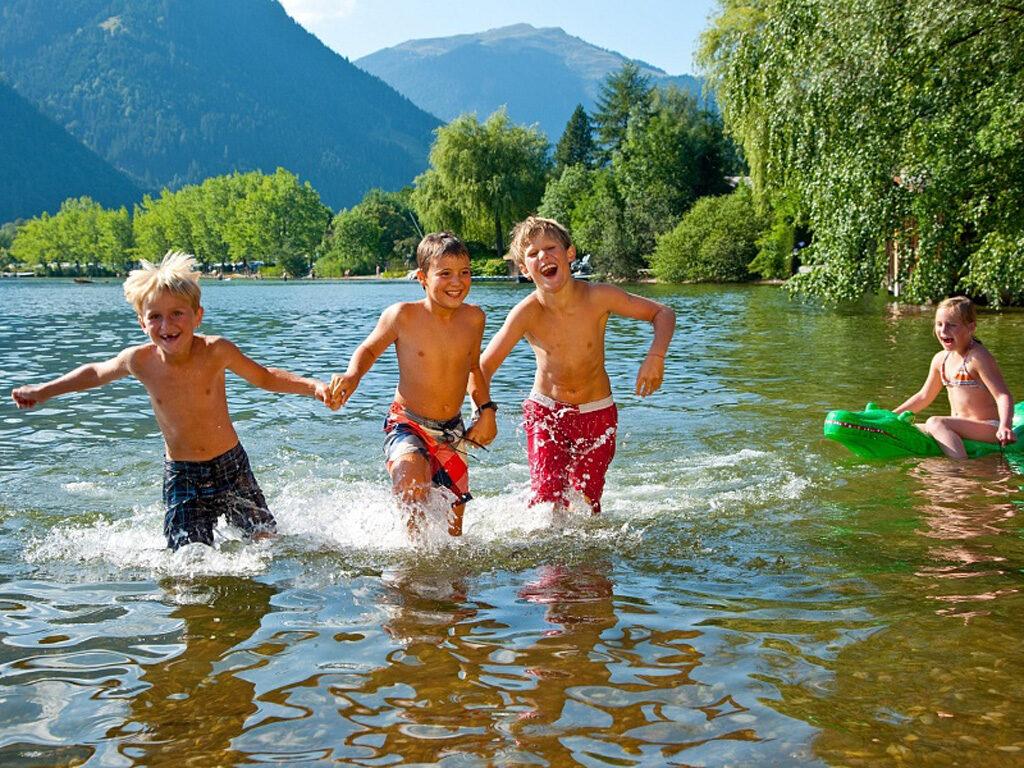 Sommer Maishofner Strandbad | Pension Alpenrose - Maishofen