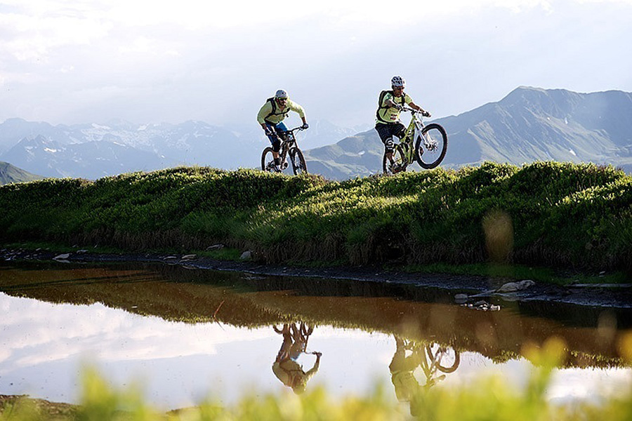 Sommer Mountainbike | Pension Alpenrose - Maishofen