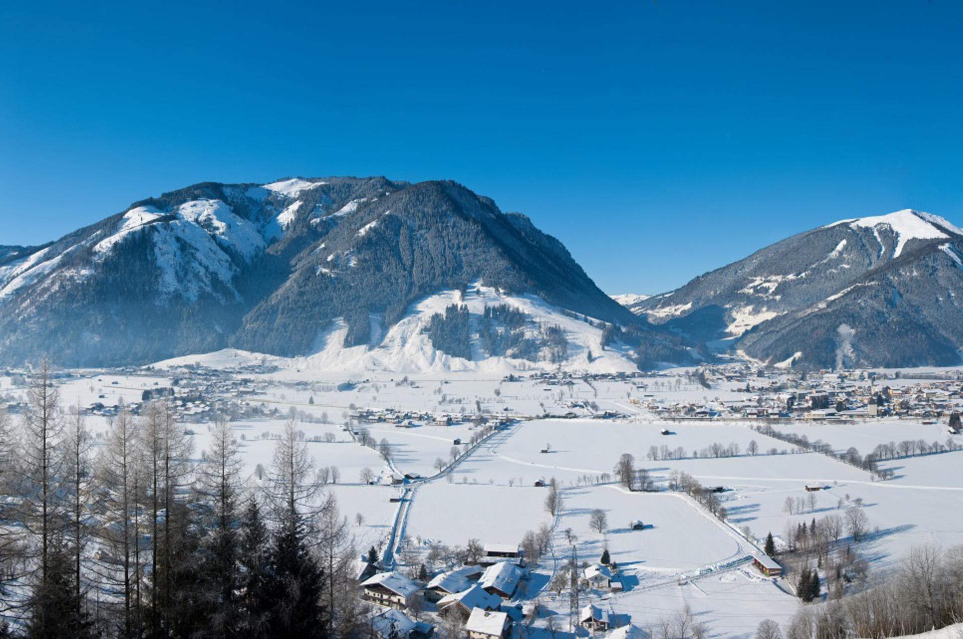 Pension Alpenrose - Maishofen | Header slide winter